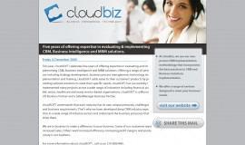 Κατασκευή ιστοσελίδων - CloudBiz Brand Design – Newsletter