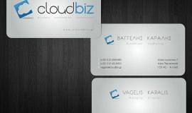 Κατασκευή ιστοσελίδων - CloudBiz Brand Design – Business Cards