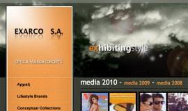 Σχεδιασμός και Κατασκευή Ιστοσελίδας με Σύστημα Διαχείρισης – Exarco