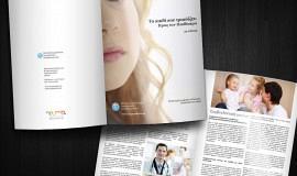 Κατασκευή ιστοσελίδων - Πανελλήνιος Σύλλογος Λογοπεδικών Θεραπευτών Print - 20σέλιδο έντυπο