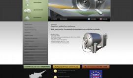 Κατασκευή ιστοσελίδων - ΝΑΝΟΣ ΕΠΕ Web Site – Preview Image 2