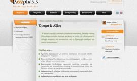 Κατασκευή ιστοσελίδων - Emphasis - Website 3