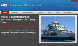 Κατασκευή ιστοσελίδων - LandingCraft - Website 1