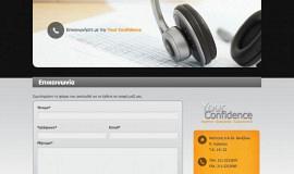 Κατασκευή ιστοσελίδων - Your Confidence - Website 4