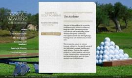 Κατασκευή ιστοσελίδων - Costa Navarino Golf Experience — Website 2