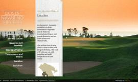 Κατασκευή ιστοσελίδων - Costa Navarino Golf Experience — Website 3