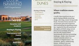 Κατασκευή ιστοσελίδων - Costa Navarino Golf Experience — Website 4