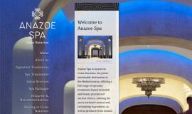 Σχεδιασμός και Κατασκευή Ιστοσελίδας – Anazoe Spa