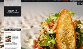 Σχεδιασμός και Κατασκευή Ιστοσελίδας – Εστιατόριο Mimaya