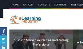 Σχεδιασμός και Κατασκευή Ιστοσελίδας – Elearningindustry.com