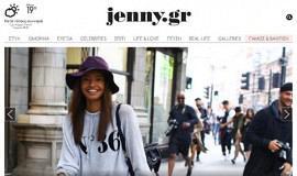 Κατασκευή ιστοσελίδων - Jenny-Website-0