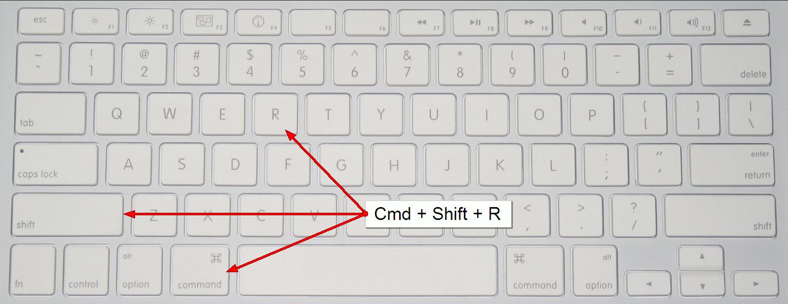 mac-cmd-shift-r