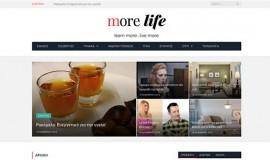 Σχεδιασμός και Κατασκευή Ιστοσελίδας – Morelife.gr