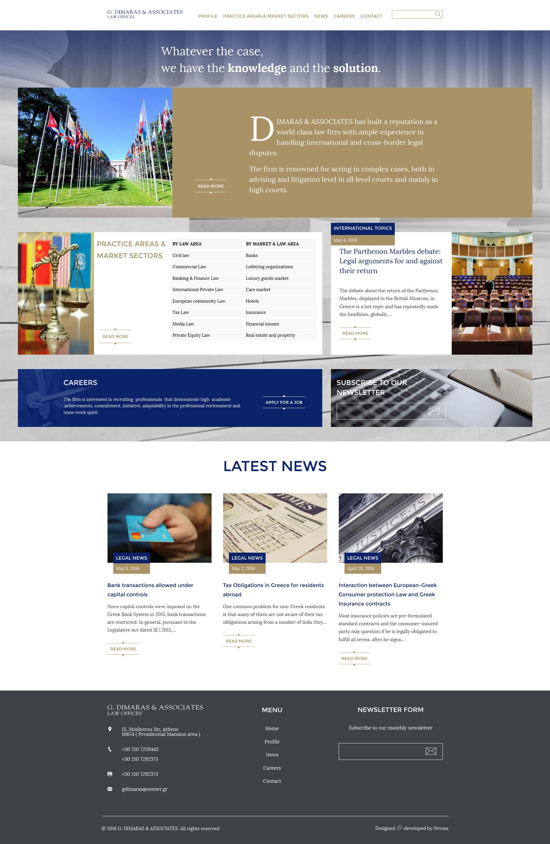 DimarasG - κατασκευή ιστοσελίδων Nevma