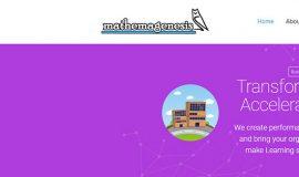 Κατασκευή Ιστοσελίδας – Mathemagenesis.com