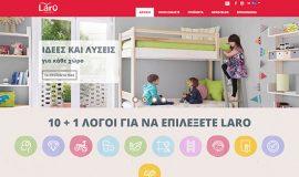 Σχεδιασμός και Κατασκευή Ιστοσελίδας – Laro.gr